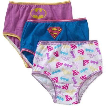 Justice League Toddler Girls Underwear, 3 Pack   Toddlers, Justice ...
