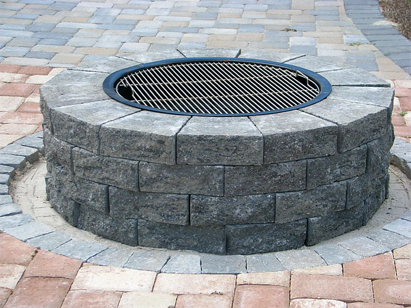 Do it yourself firepit installation instructions and grill kit do it yourself firepit installation instructions and grill kit recipes enhance companies solutioingenieria Image collections