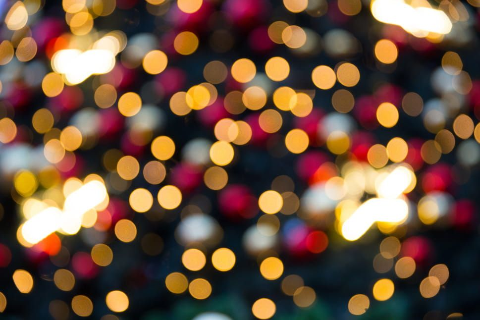 free photo blurred christmas lights captured in london england with a canon 6d dslr