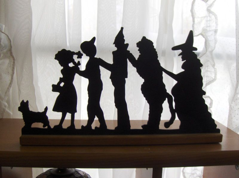 wizard of oz silhouette
