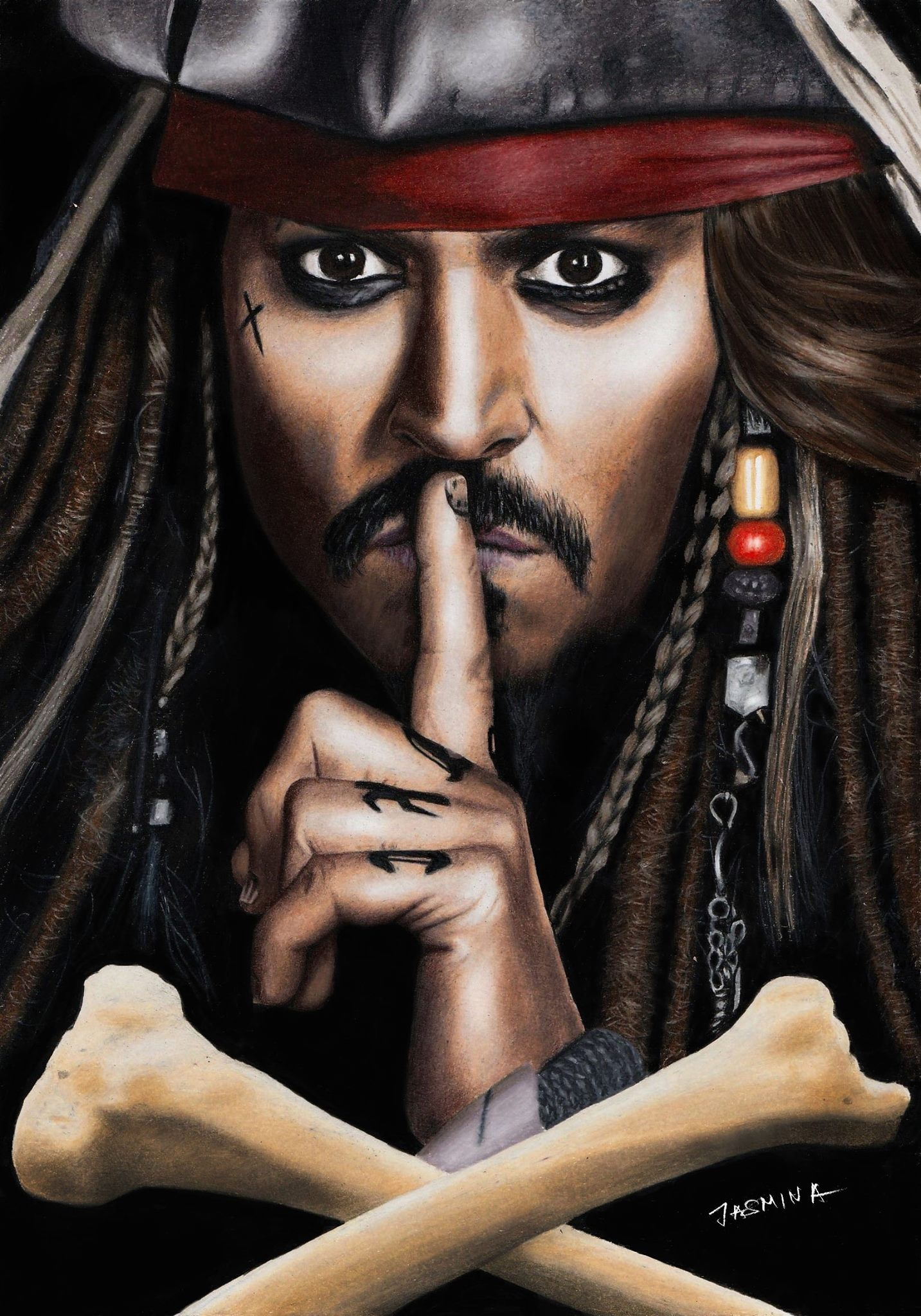 Pin By Lisa Ellermann On Cinema Sparrow Art Jack Sparrow Wallpaper Jack Sparrow Tattoos