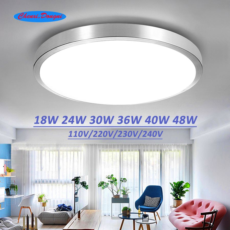 Ceiling Led Lighting Lamps Modern Bedroom Living Room Lamp Surface Mounting Balcony 18w 24w 30w 36 Flush Mount Ceiling Lights Ceiling Lights Led Ceiling Lights
