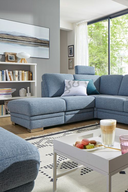 Das Sofa Global Tavira bietet gemütlich Platz für die ganze Familie - wohnzimmer couch gemutlich