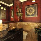 Powder Rooms - traditional - powder room - houston - by The Design Firm