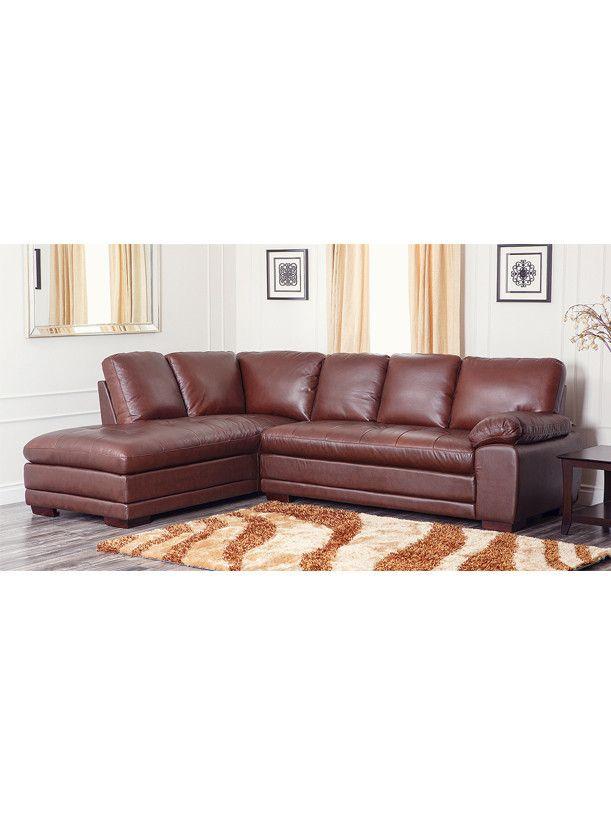 Best Sold Directly By Abbyson Metropolitan Chestnut Brown 400 x 300