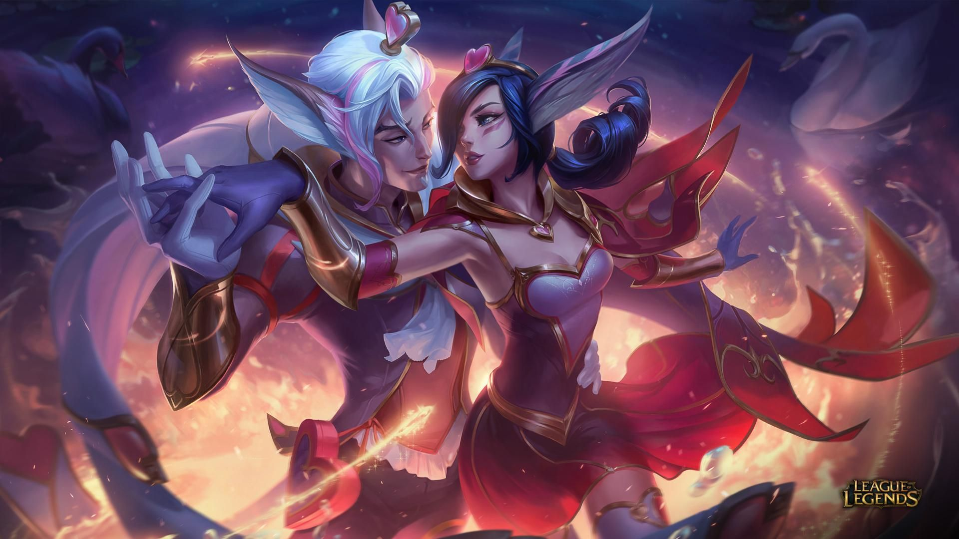 New Epic skins: Valentine's Day 2019   League of Legends