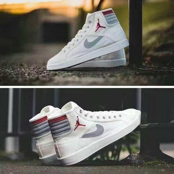 Fashion Shoes 2017 Jordan Sky High OG Sail 2016 Wolf Grey White Red