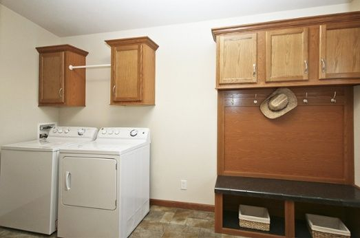 Full Laundry Room With Built In Storage: Want Or Need?
