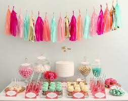 decoracion pompones de papel