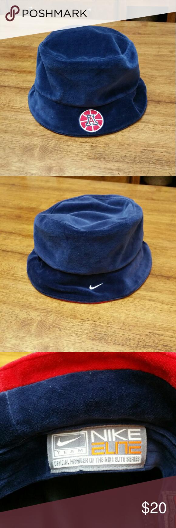 2937ec3db98 Mens Lg XLg Nike Velour UofA bucket hat Perfect for the University of  Arizona basketball fan! Nike Accessories Hats
