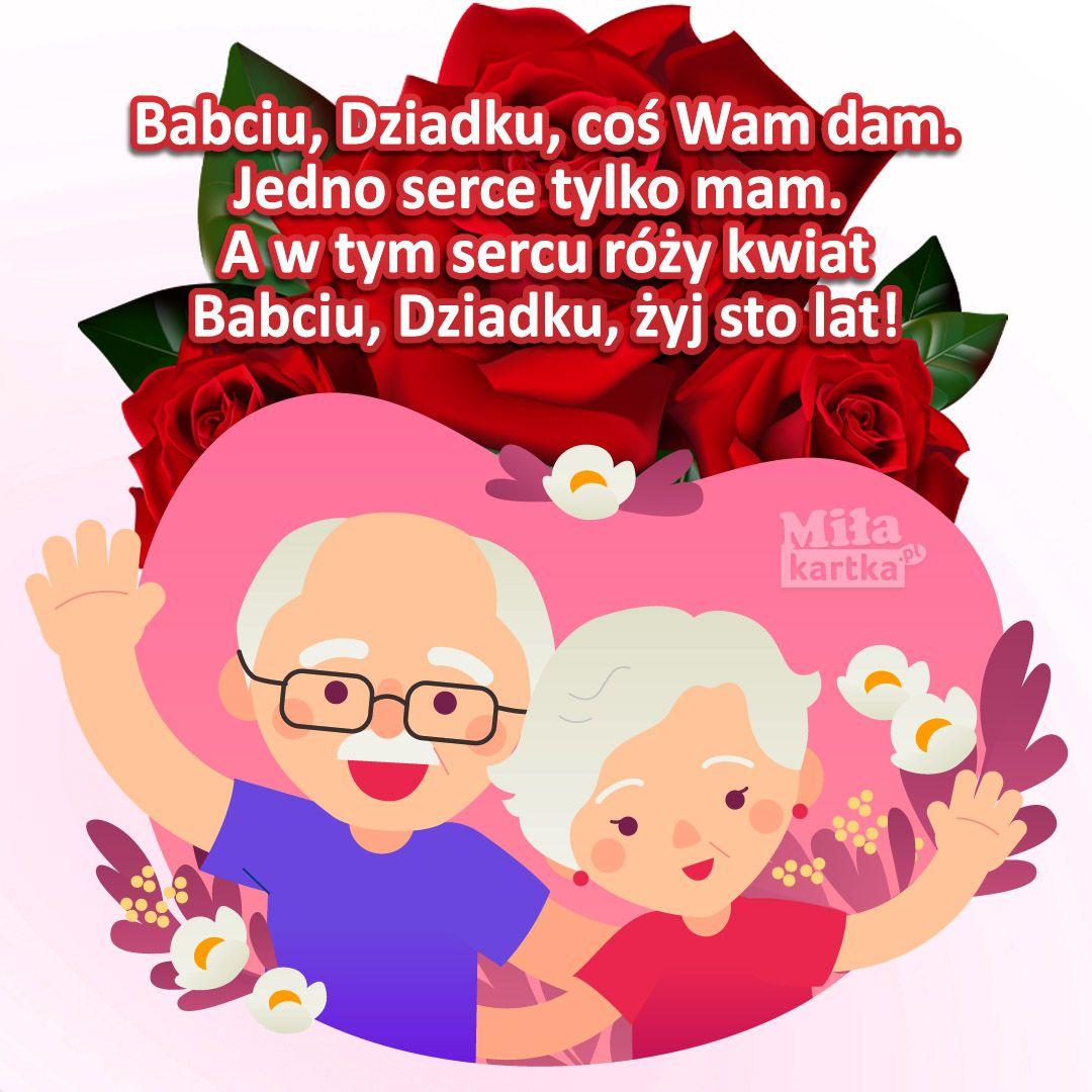 Babciu, Dziadku, coś Wam dam! #babcia #dziadek #dziadkowie #rodzina #święto  #emeryt #polska #grandpa #grand… | Couple cartoon, Grandparents day,  Grandma and grandpa