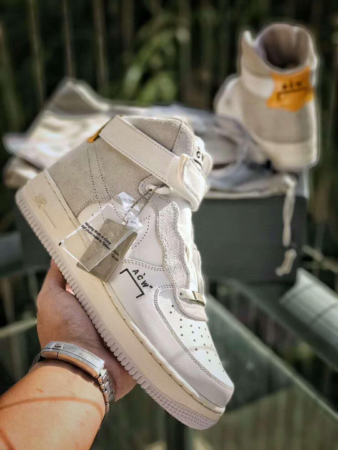 first rate 4ff06 5a040 A-COLD-WALL Nike Air Force 1 High