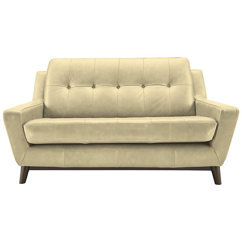 Buy G Plan Vintage The Fifty Three Small Leather Sofa | John Lewis