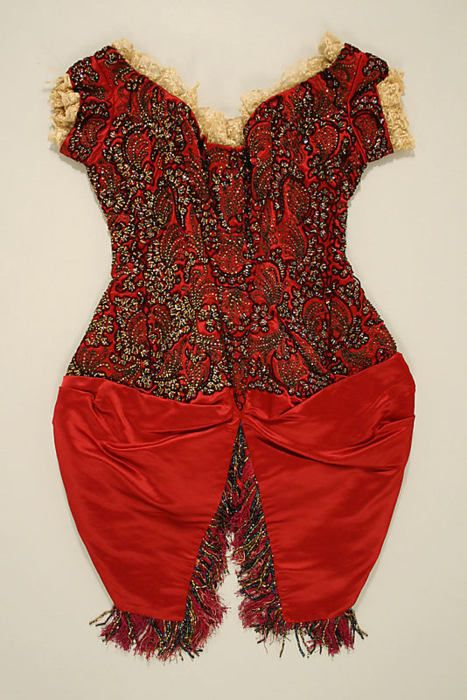 20-11-11 Bodice from the Metropolitan Museum of Art: CI  ca. 1881, French
