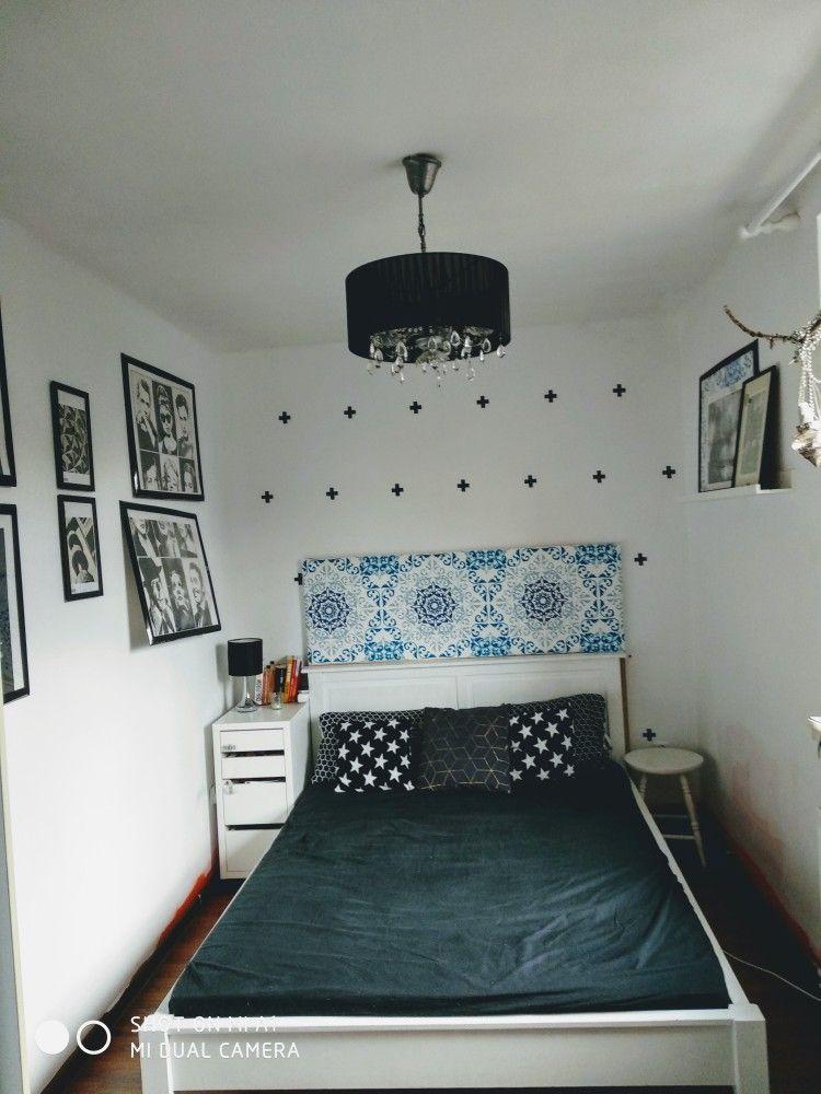 Sypialnia Czarno Biała Mieszkanie Home Decor Furniture