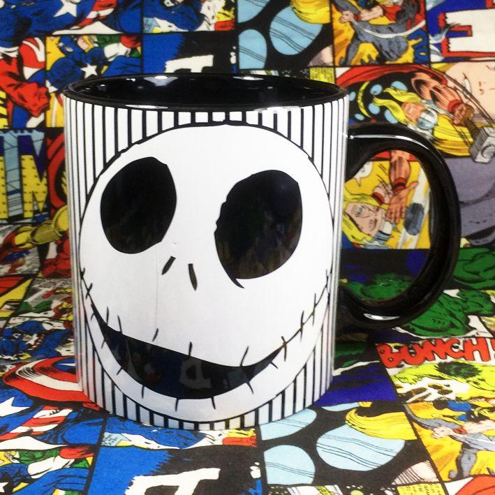 Mug Jack's Face Nightmare Before Christmas Cup Christmas