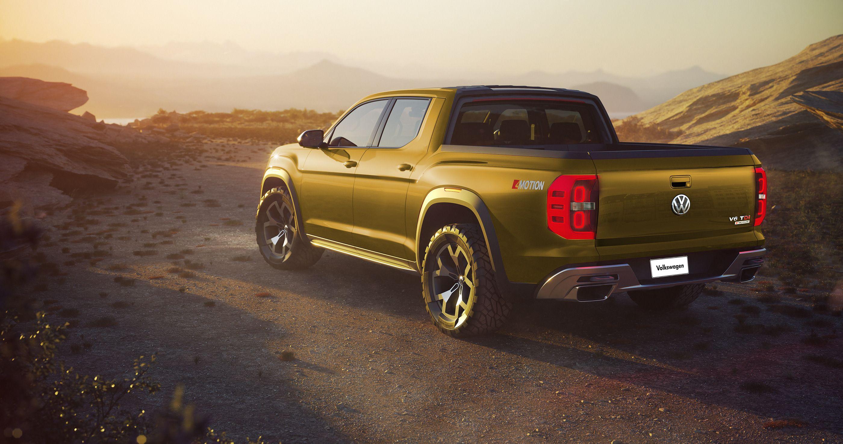 VW Atlas Tanoak pick up & Cross Sport on Behance