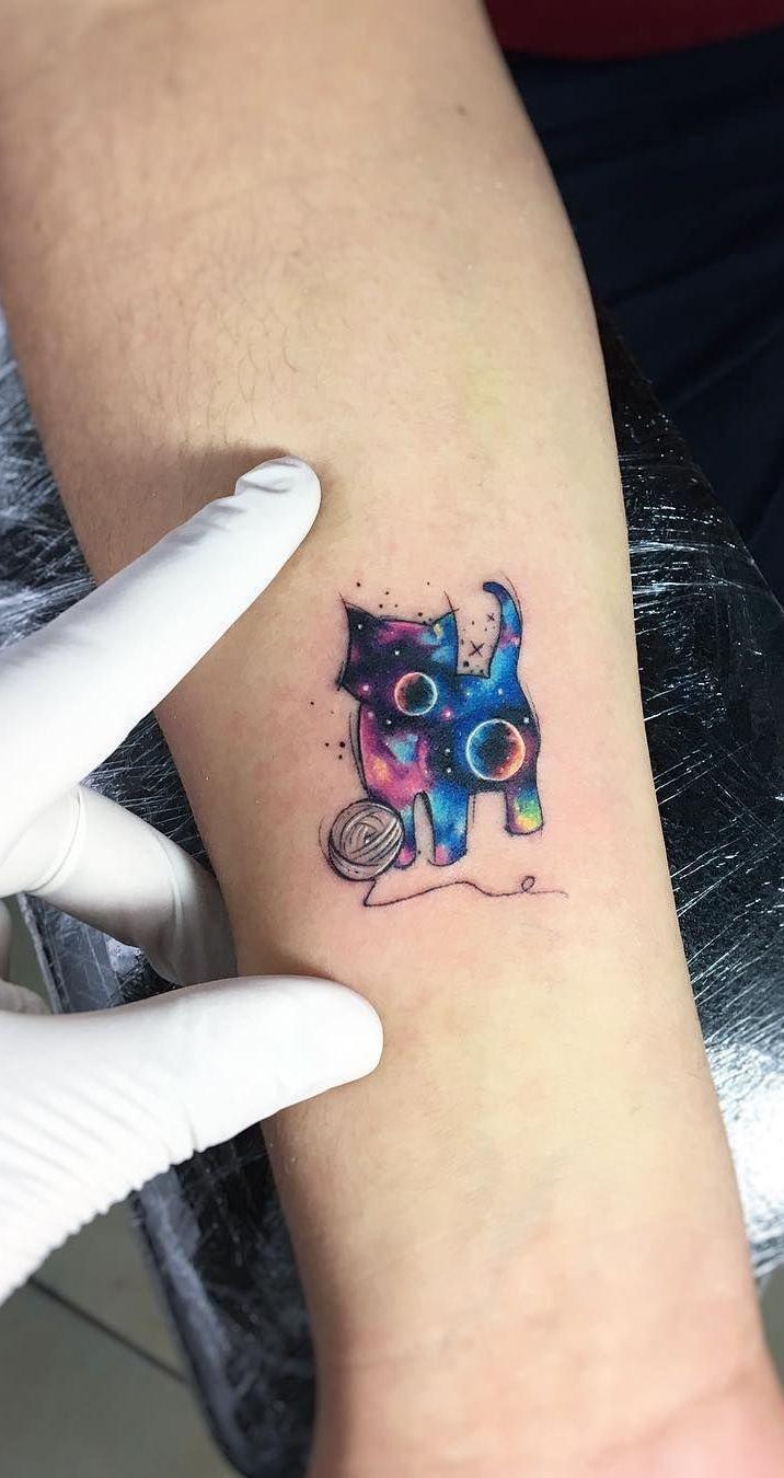 Superbe Tatouages Aquarelle par Adrian Bascur