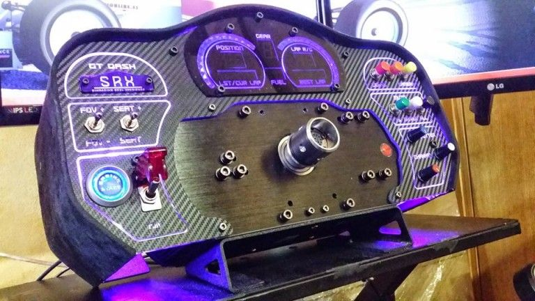 SRX GT Dash For Fanatec CSW Available For Preorder