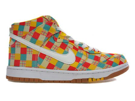 Nike Dunk Skinny Supreme Patchwork Plaid Pack