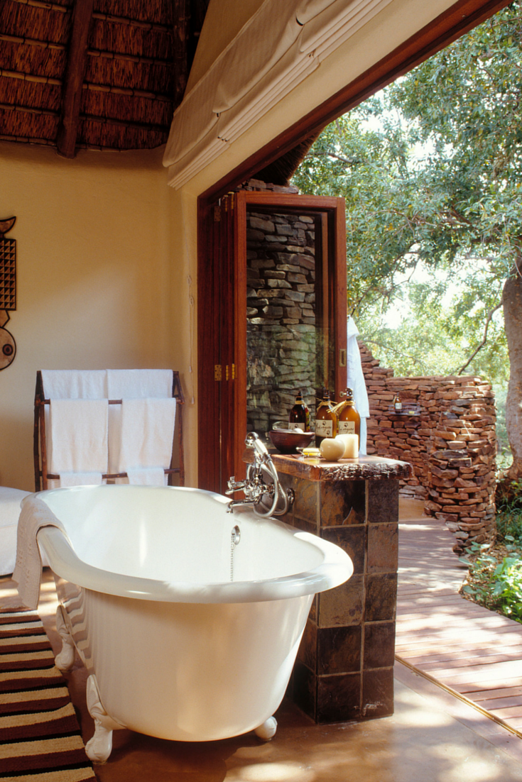 Bathroom Plumbing 101 Interior honeymoon idea 101 how about a romantic bath in a secluded lodge