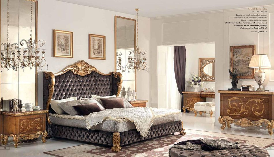 breathtaking moshir furniture. Luxury italian furniture for bedroom by Cappellini Intagli  more at http