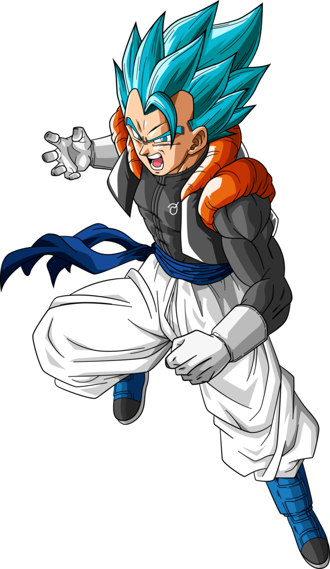 Super Saiyan Blue Gogeta Dragonball Super By