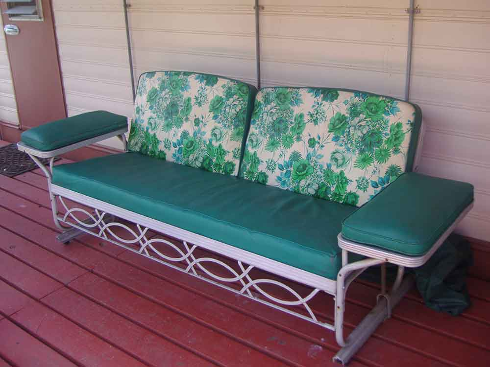 History Of Old Metal Porch Glider Elbrusphoto Porch And Landscape Ideas Vintage Patio Glider Cushions Vintage Patio Furniture