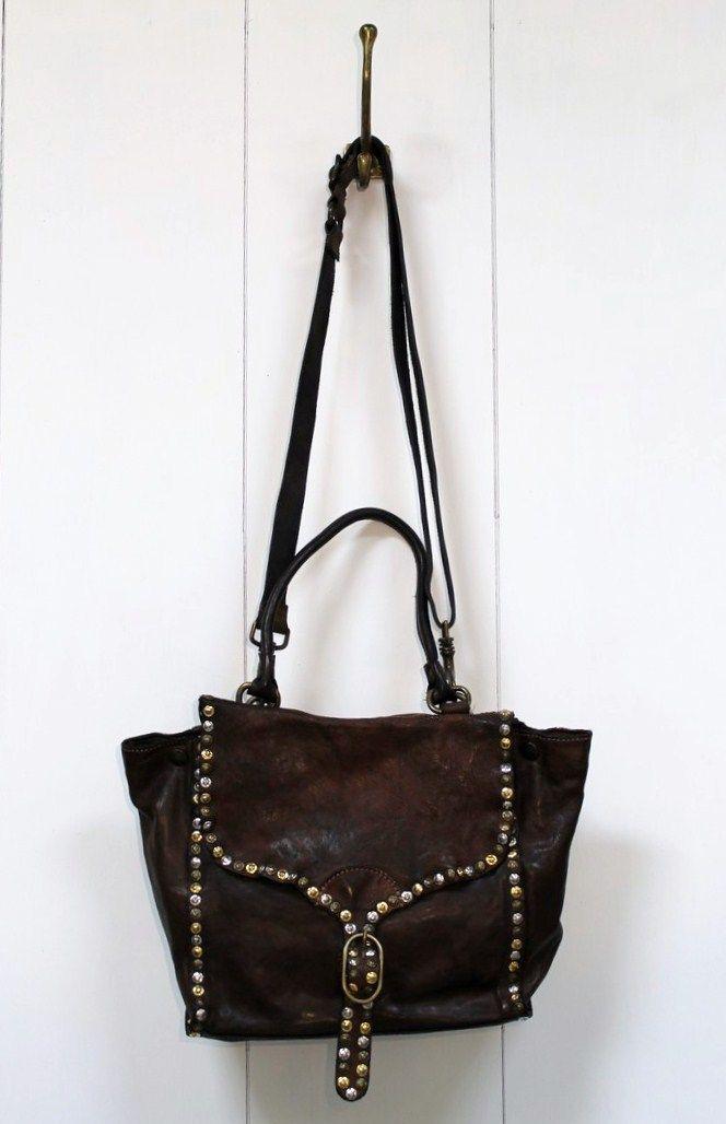 campomaggi italian vintage style italian leather handbag carteiras pinterest italian. Black Bedroom Furniture Sets. Home Design Ideas