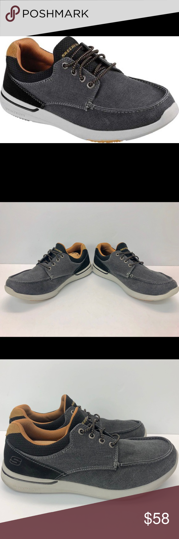 Relaxed Fit-Elent-mosen Boat | Skechers