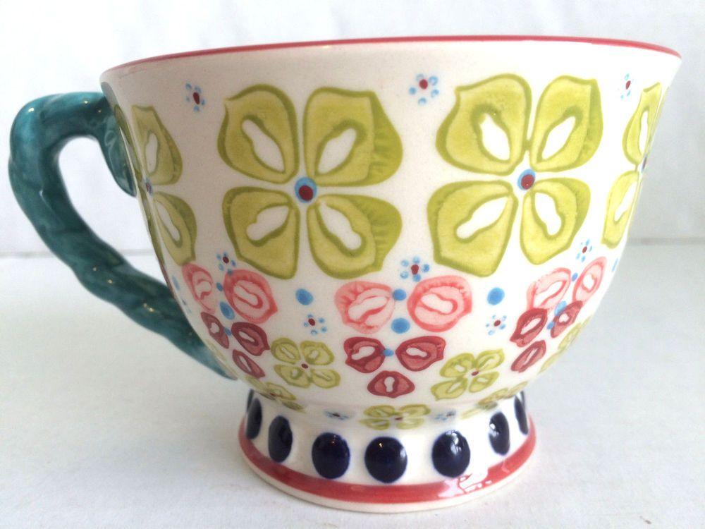 Anthropologie fabrique en chine colorful flower soup