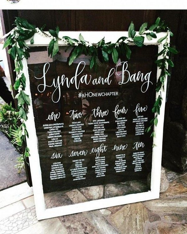Outdoor Wedding Seating Ideas: 20 Trending Vintage Wedding Seating Chart Ideas