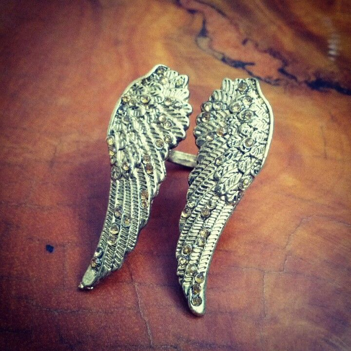 Angel Wings ring USD$6.70; RM19.90