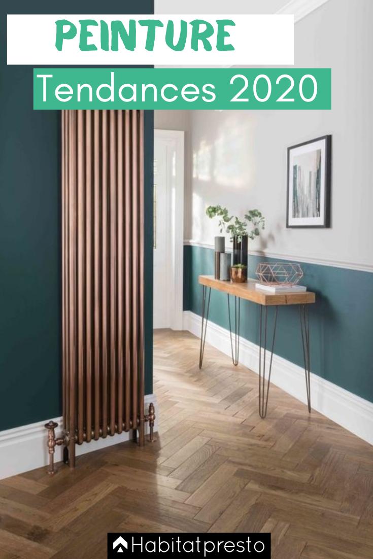 Peinture intérieure : Voici les 5 couleurs tendances en  2020 #décorationmaisoncocooning