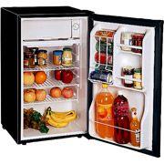 Magic Chef 3.6-Cubic Foot Refrigerator, Black