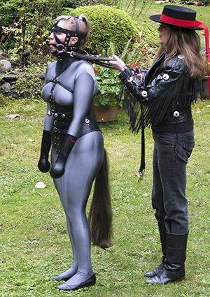 Bondage play pony