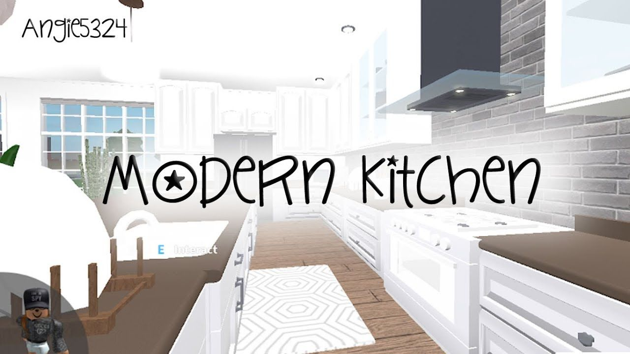 Bloxburg Kitchen Ideas Modern