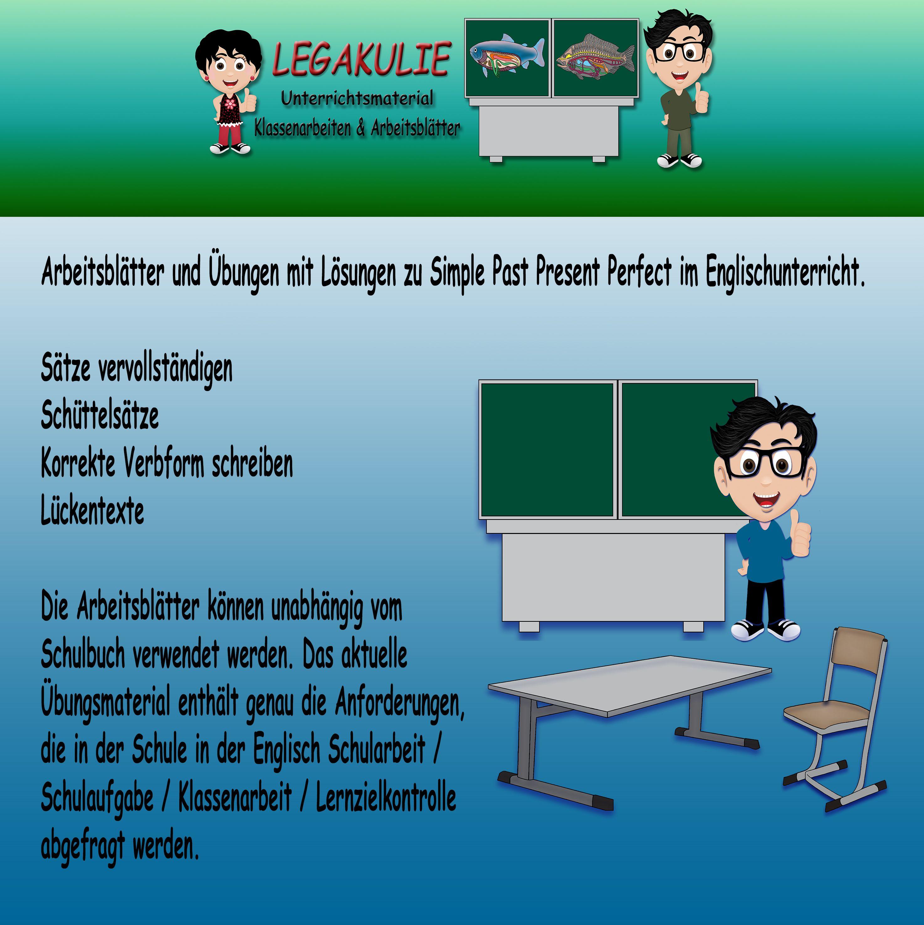Simple Present - Present Progressive | 5.Klasse Englisch ...