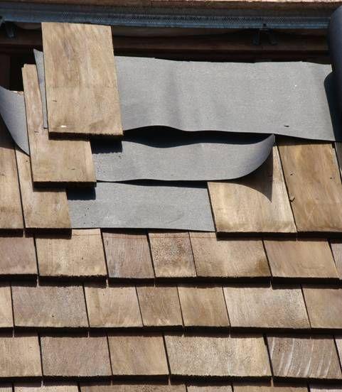 Tile Fastener Clips Shingles Are Approximately Apart Small House Design Cedar Roof Cedar Shingles