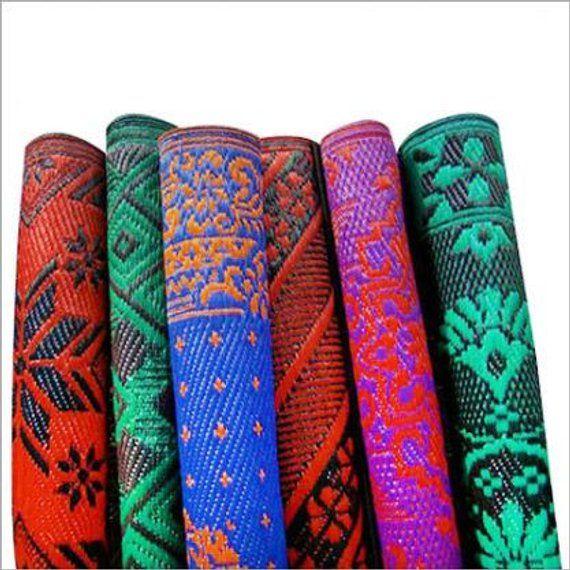 Decorative Plastic Mat Indian Gift Rug Rag Outdoor Indoor Printed Material Polypropylene Mats Wall Decor