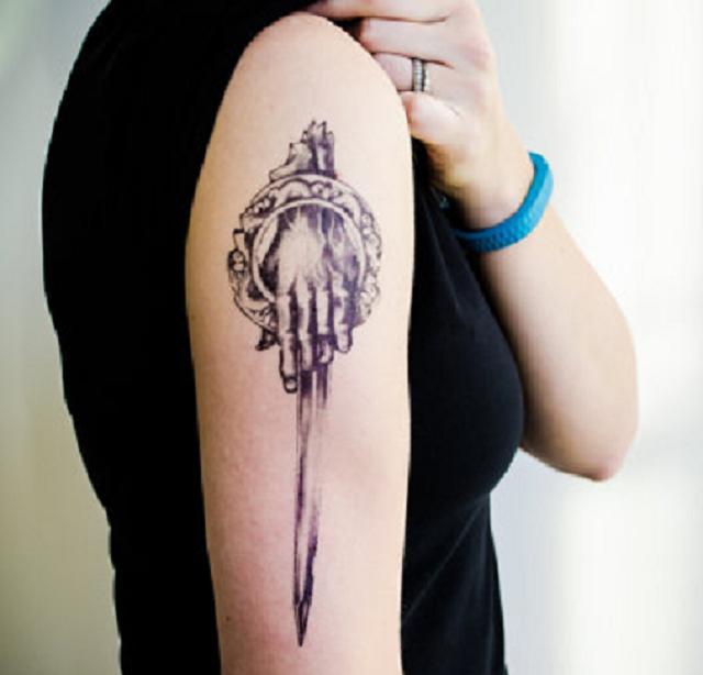 6 Tatuajes Temporales De Juego De Tronos La Mano Del Rey Ink