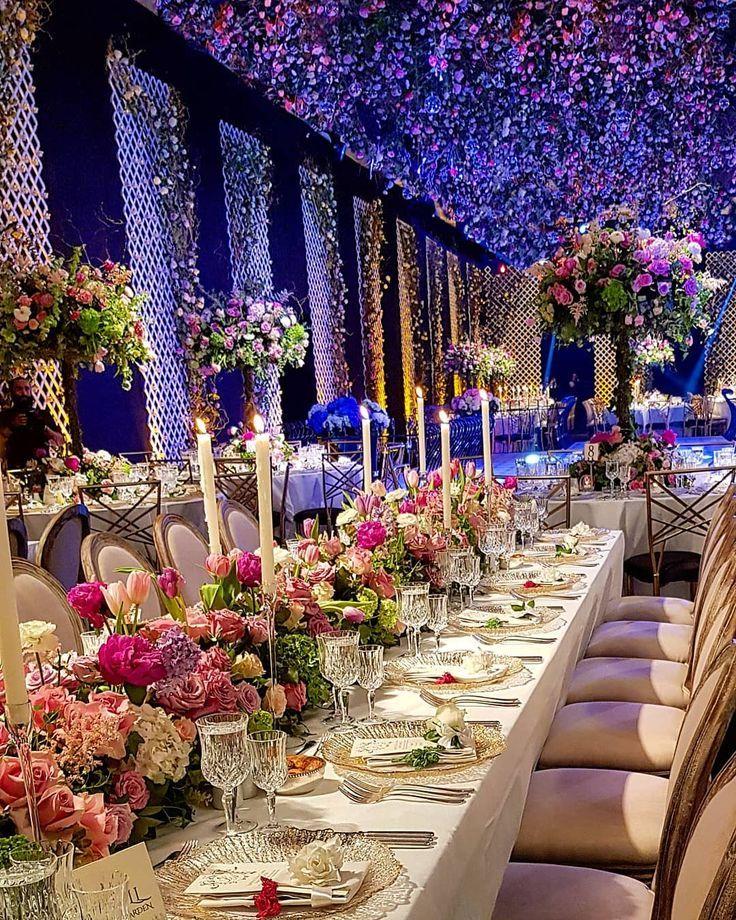 Celebrating in a secret garden ______________ Wedding planner : @gloryboxproductions . Photographer: @parazarme. Floral decoration : @yolajahshan _______________ #Lebaneseweddings