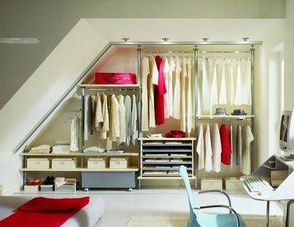 cabina armadio in mansarda | spazi sottotetto | pinterest | cabina ... - Idee Cabina Armadio Mansarda