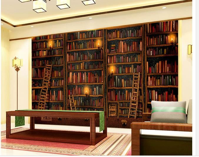 Wallpaper Bookshelf Google Search Wall Paper Pinterest - Large bookshelves