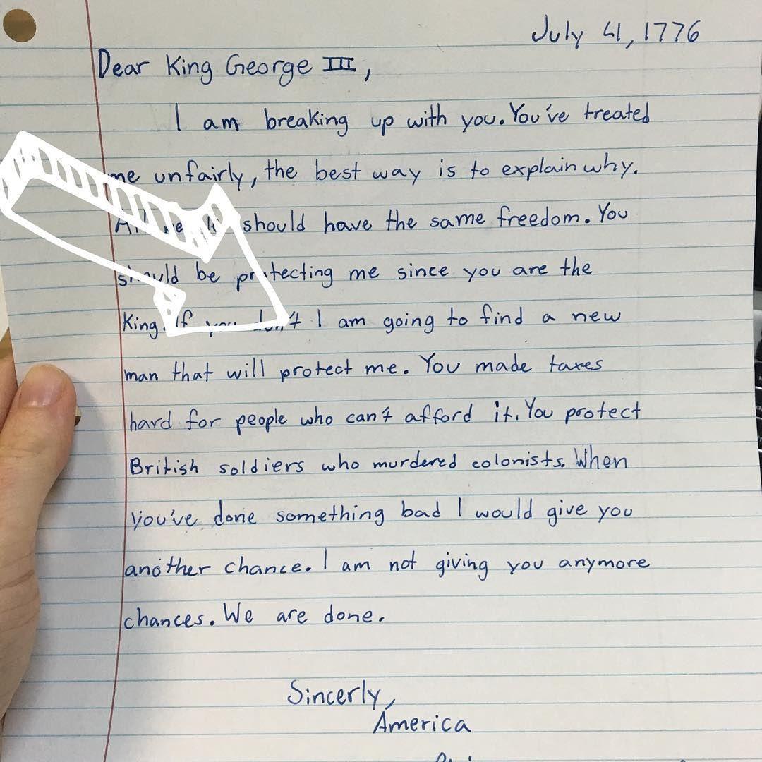 Break Up Letter For Social