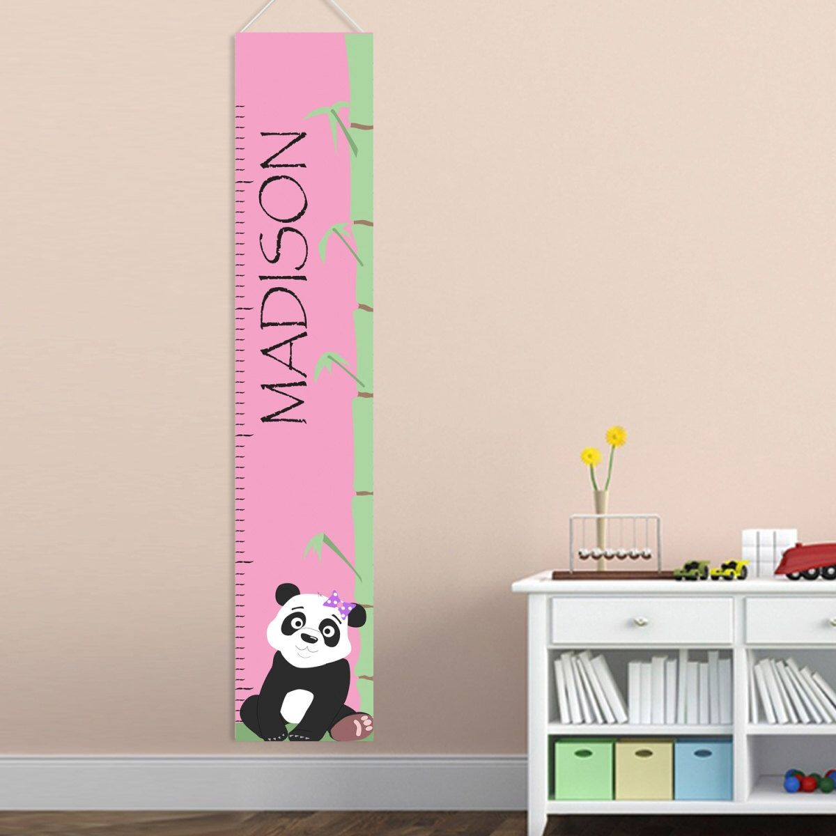Personalized girls growth chart kids height chart child growth personalized girls growth chart kids height chart child growth chart for girls panda geenschuldenfo Gallery