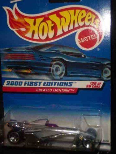 2000 First Editions -#35 Greased Lightning 5-Spoke Wheels #2000-95 Collectible Collector Car Mattel Hot Wheels 1:64 Scale by Mattel. $0.01. A Perfect Addition To Any Hot Wheels Collection!. Perfect Hot Wheels Diecast for every collector!. Fun For All Ages! Serious Collectors And Kids Alike!. Diecast Metal Hot Wheels Car Perfect For That Hot Wheels Collector!. Great Investment For Any Hot Wheels Collector.. 2000 First Editions -#35 Greased Lightning 5-Spoke Wheels #2000-95 ...