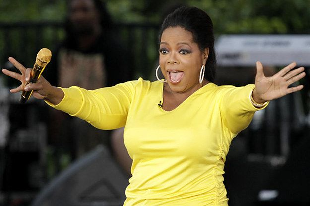 Oprah returned the favor by nominating her friends, as one does.   Oprah's Ice Bucket Challenge Is Just As Insane As You'd Think It Would Be