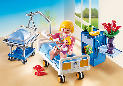 Badezimmer Playmobil ~ Maternity room play therapy wish list playmobil