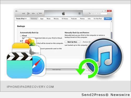 iDR Studio Upgrades iPhone Data Recovery Optimizing